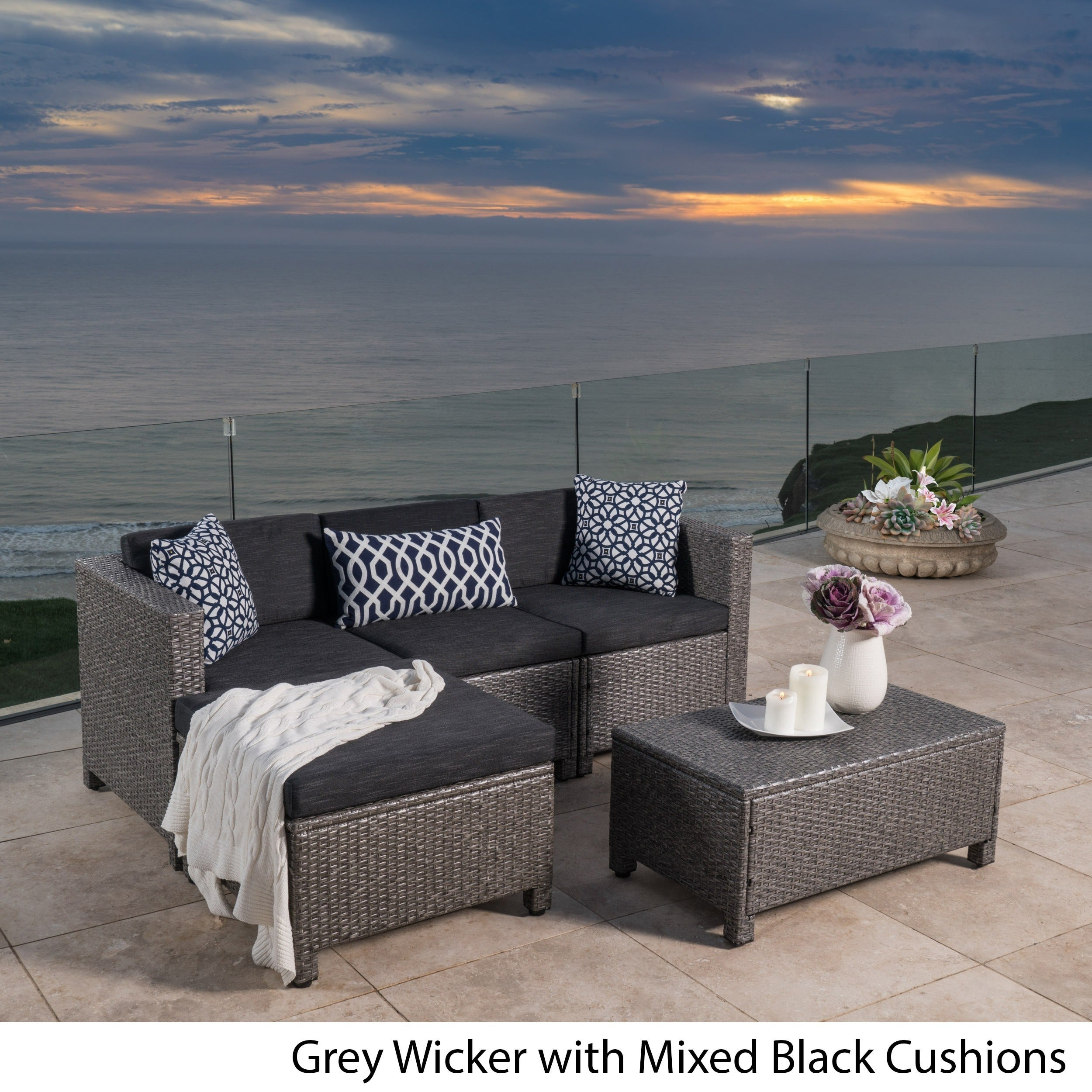 Shop Moses 5-piece Outdoor Sofa Set - On Sale - Free Shipping Today ...