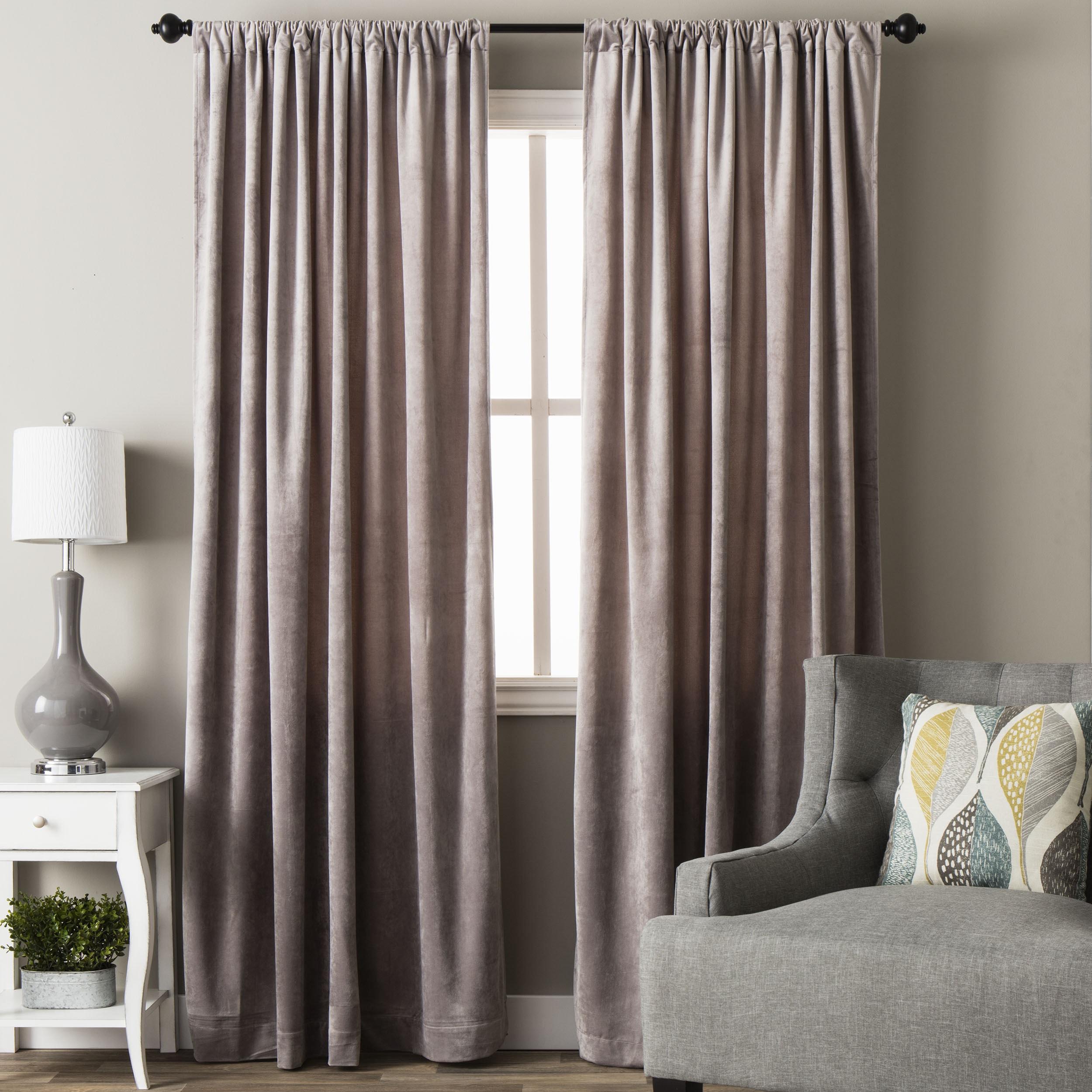 mallard curtain velvet panel pin market panels world x