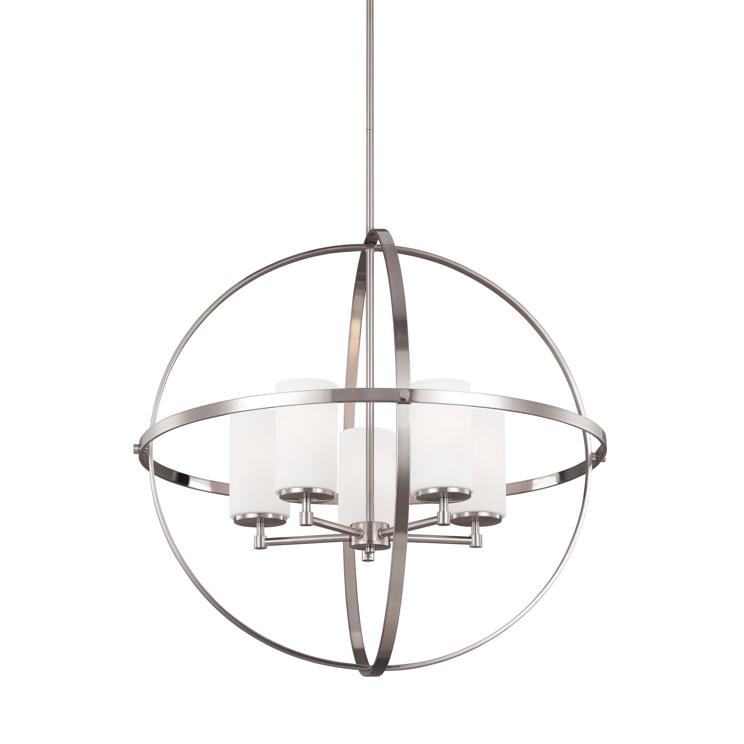 shop large chandelier pm vittoria nickel screen at shot now
