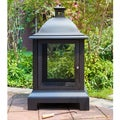 Corvus Envisia Quaintly-styled Black Steel Fire Pit