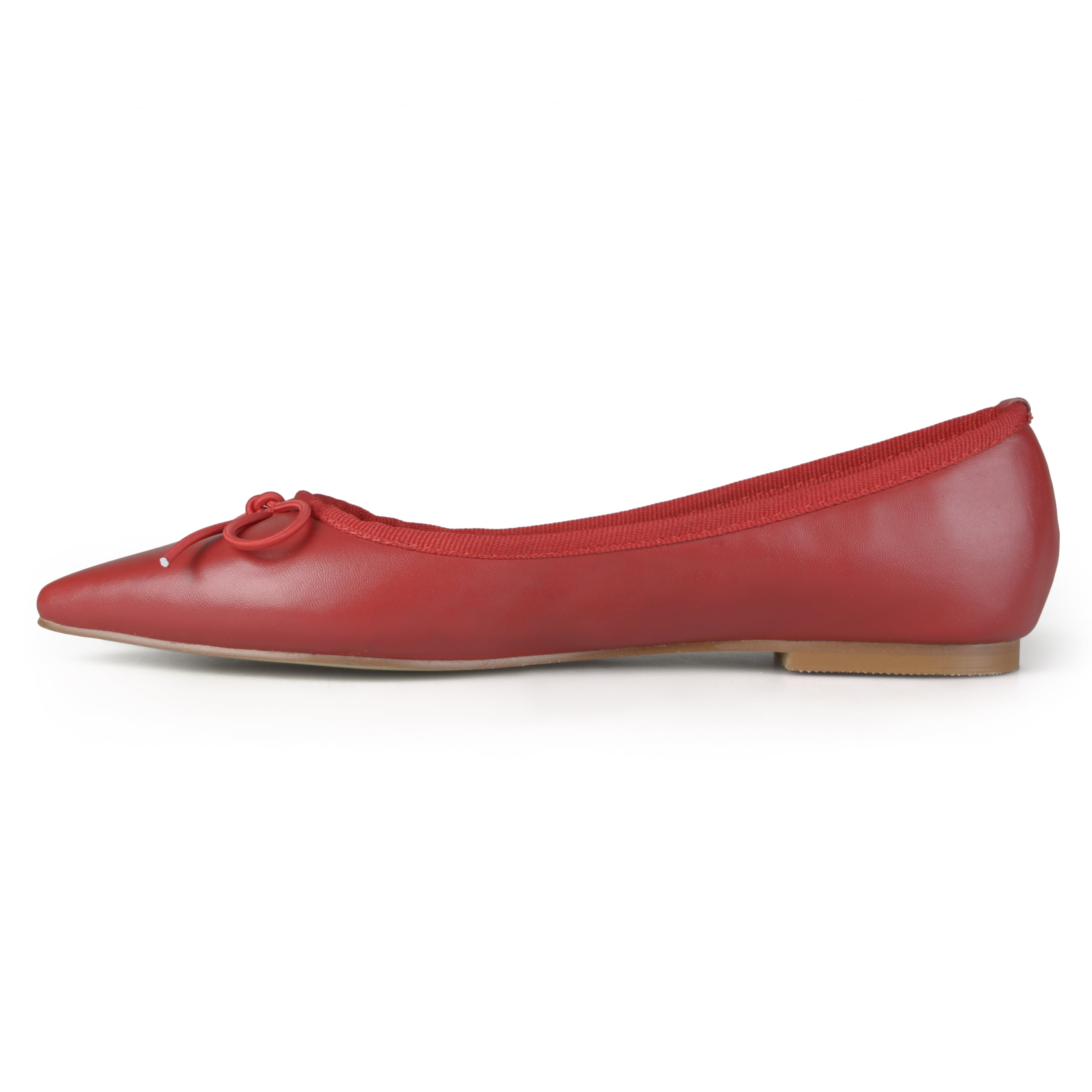 Journee Collection Lena ... Women's Pointed Ballet Flats 4HlgM