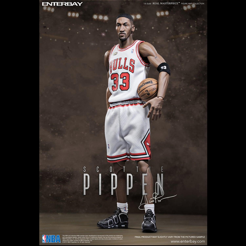 Scottie Pippen Head Sculpt Fit 1//6 Action Figure Model Basketball Player InStock