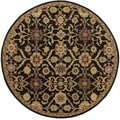 Hand-Tufted Dreux Floral Wool Rug (8' Round)