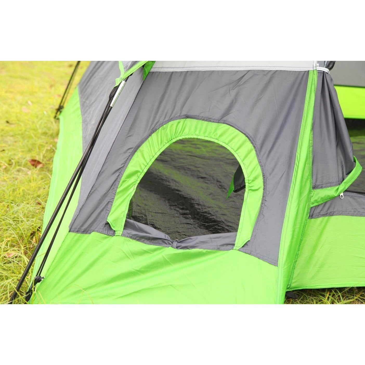 Semoo Waterproof D-Style Door 4-Person C&ing/ Traveling Family Dome Tent with Compression Bag - Free Shipping Today - Overstock - 18115951  sc 1 st  Overstock.com & Semoo Waterproof D-Style Door 4-Person Camping/ Traveling Family ...