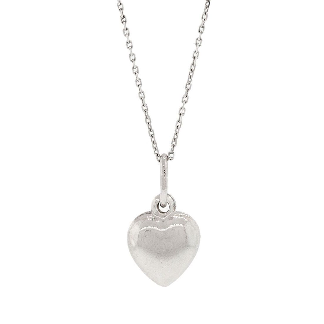Pori sterling silver solid heart pendant necklace free shipping on pori sterling silver solid heart pendant necklace free shipping on orders over 45 overstock 18116126 mozeypictures Gallery