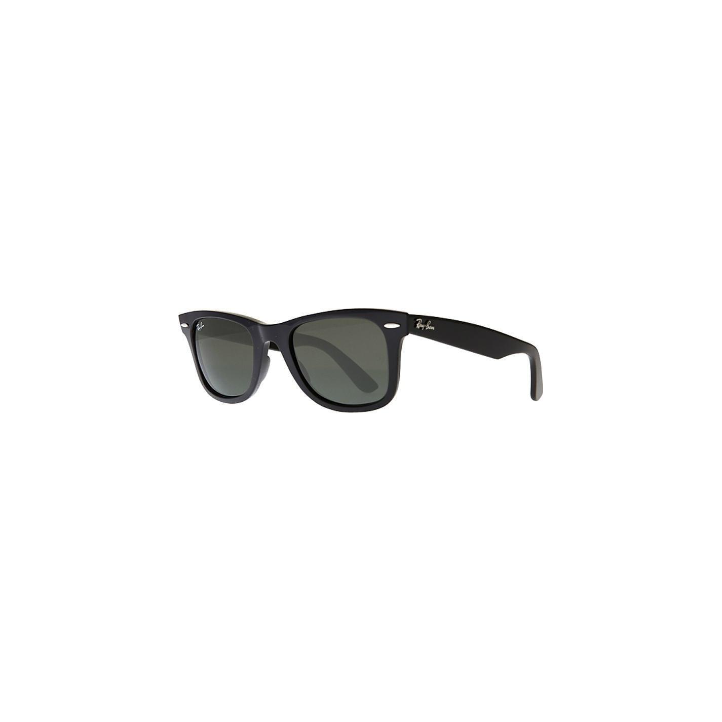 8911ab5f4b1 Ray-Ban RB2140 901 58 Original Wayfarer Classic Unisex Black Frame Polarized  Green 54mm Lens Sunglasses
