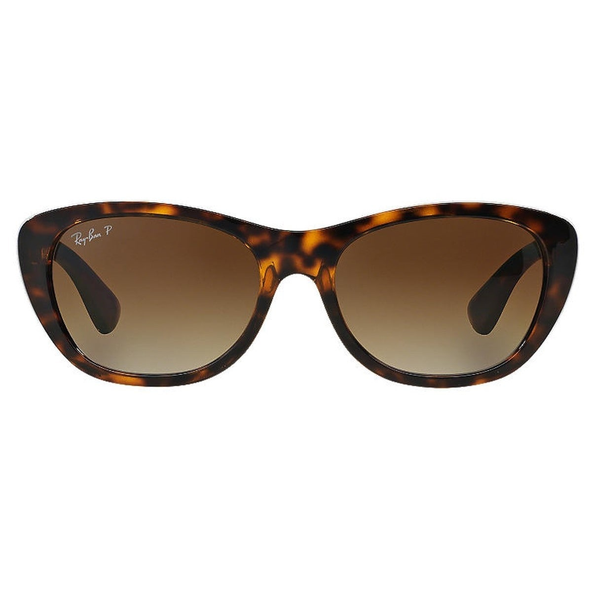b0bf9cd681 Shop Ray-Ban RB4227 710 T5 Female Tortoise Frame Polarized Brown Gradient  55mm Lens Sunglasses - Free Shipping Today - Overstock - 11118533