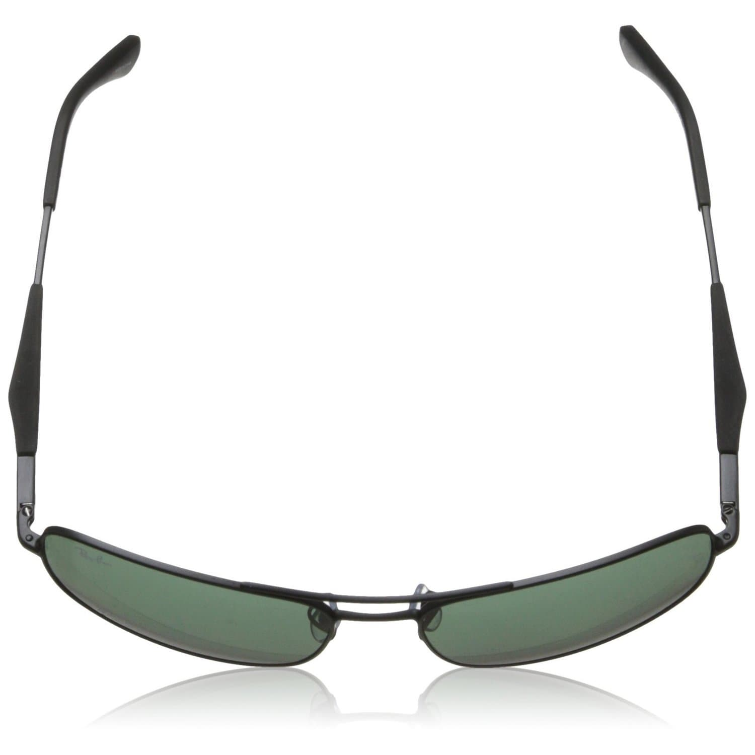 e0f4054fbb Shop Ray-Ban RB3515 004 71 Men s Gunmetal Frame Green Classic 58mm Lens  Sunglasses - Free Shipping Today - Overstock - 11118536