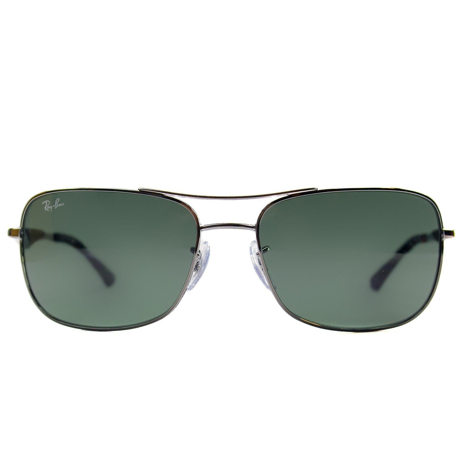 6daf111becf Shop Ray-Ban RB3515 004 71 Men s Gunmetal Frame Green Classic 58mm Lens  Sunglasses - Free Shipping Today - Overstock - 11118536