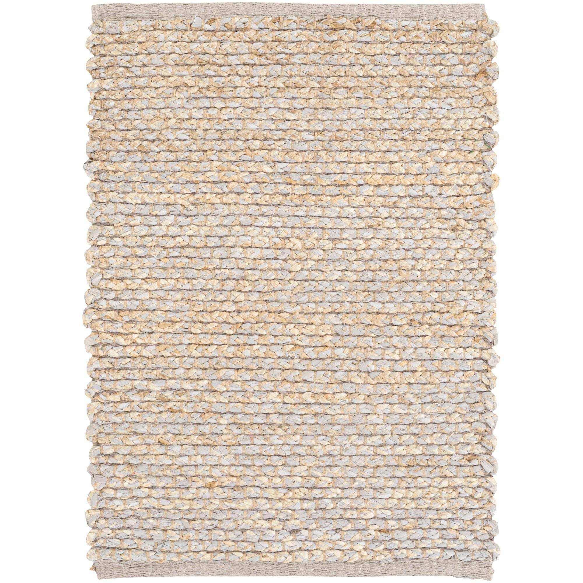Hand Woven Canadaontario Cotton Seagr Area Rug 2 X 3