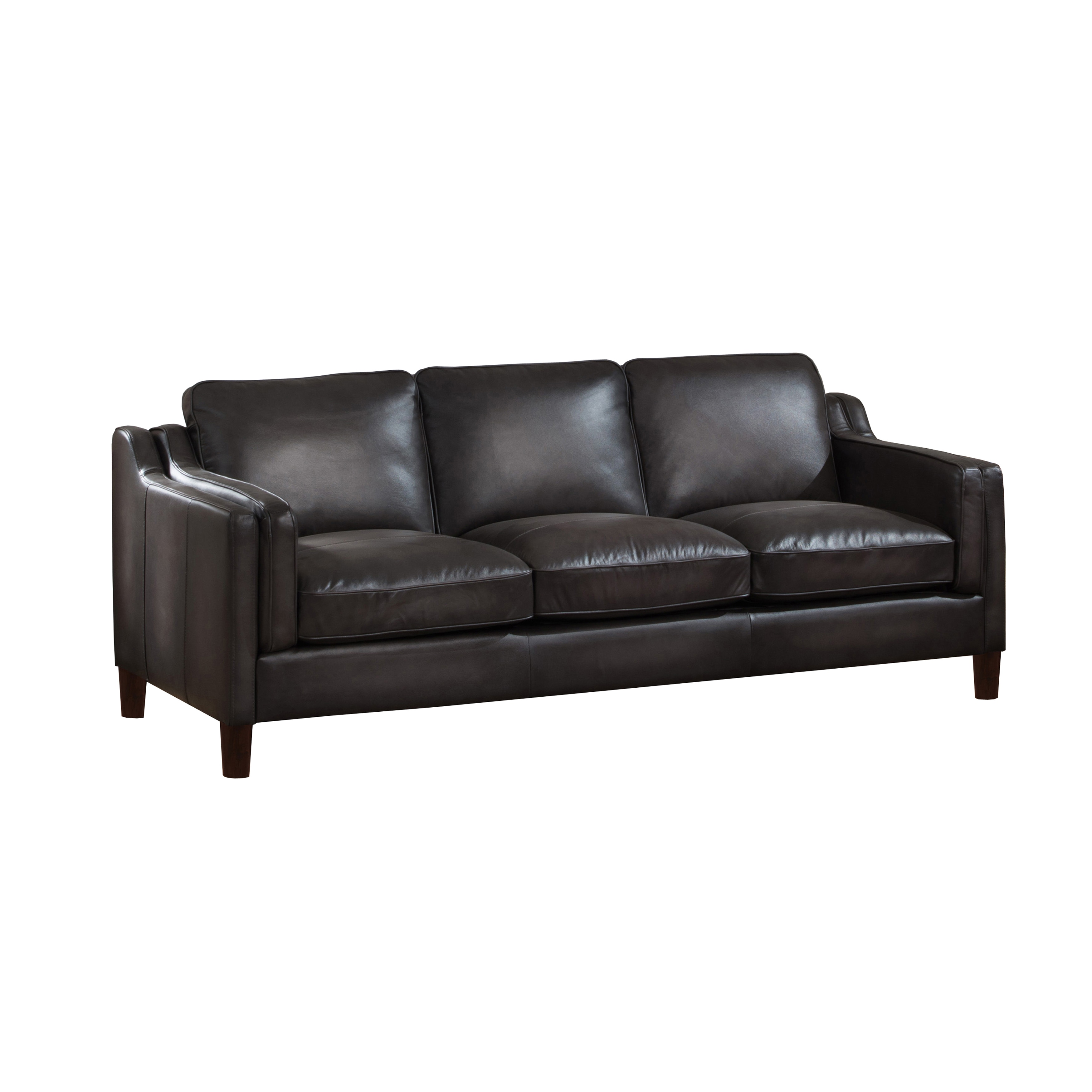 sofa mcgregors furniture atollo and loveseat black product living room leather all category sofas