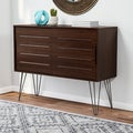 Walnut Finish Astro Buffet