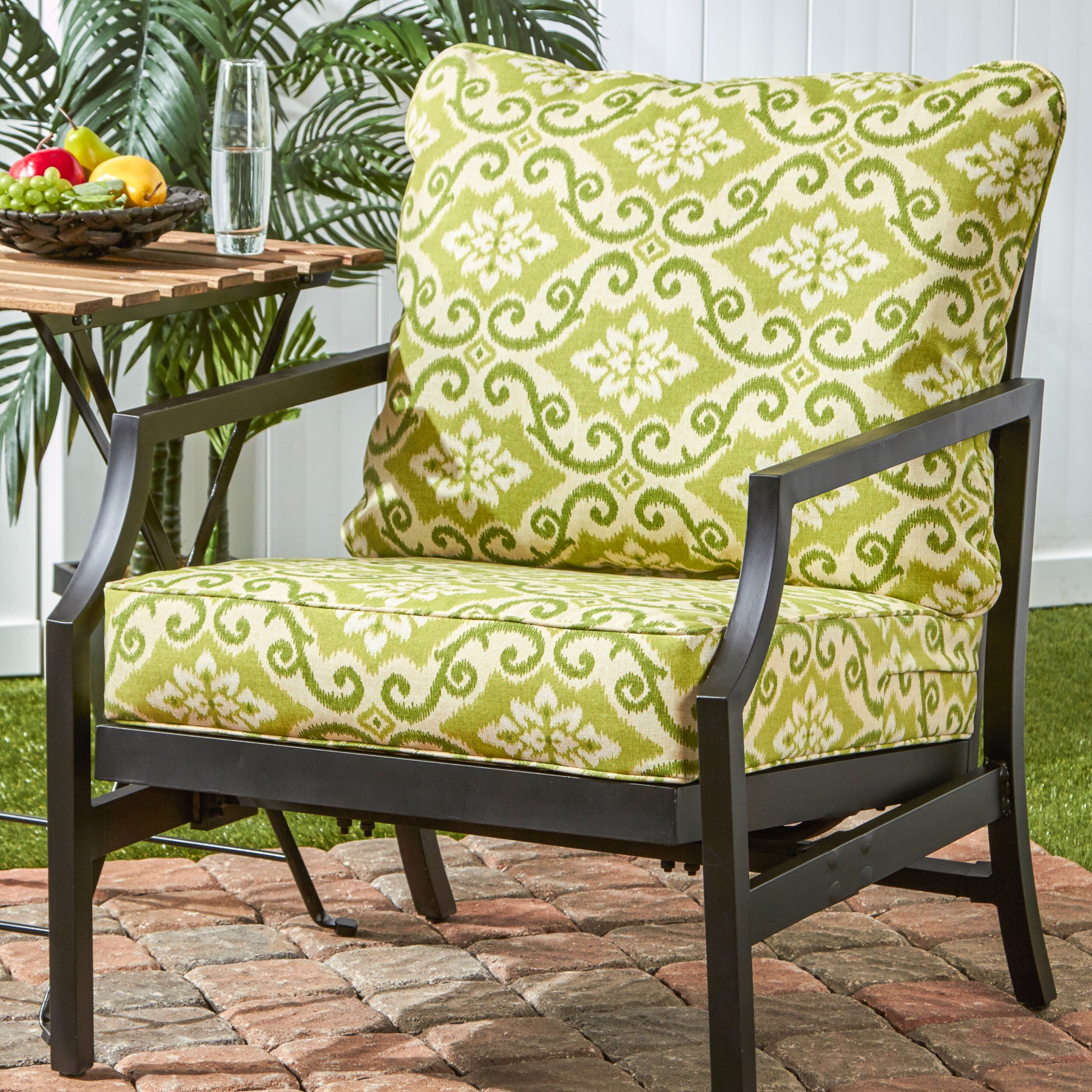 Greendale Deep Seat Outdoor Back and Seat Cushion Set Free