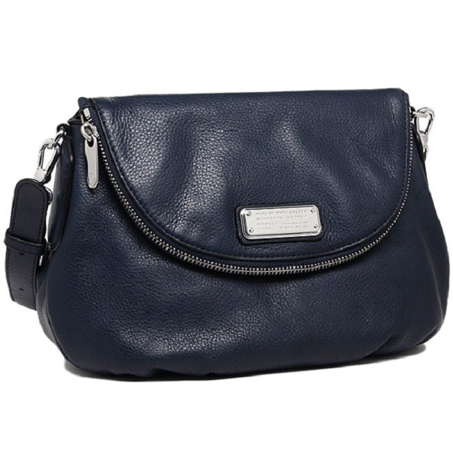 3f7bfa303376 Shop MARC by Marc Jacobs India Ink New Q Natasha Crossbody Bag - Free  Shipping Today - Overstock - 11138755