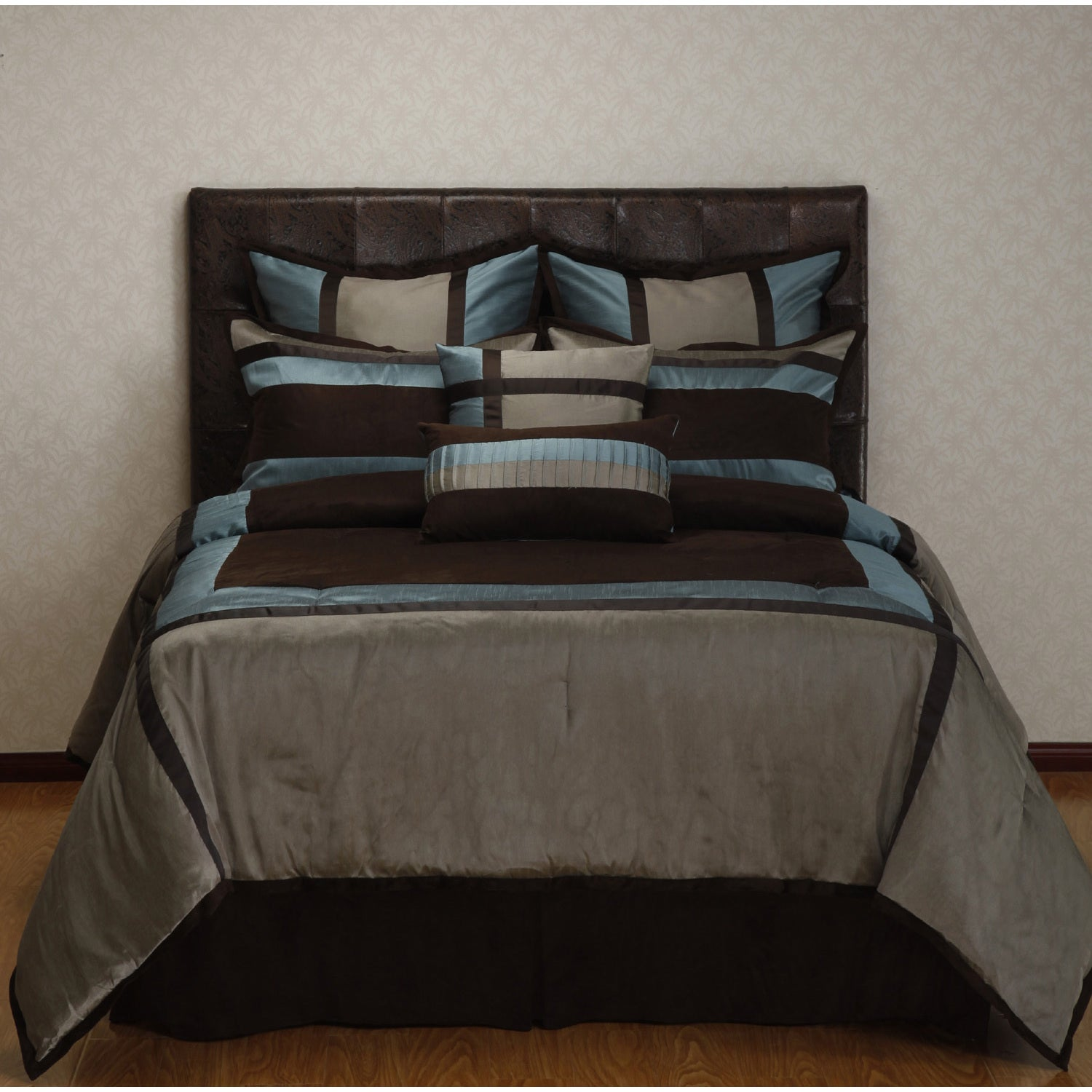 twill nautica seaward product shipping bath flannel free overstock set bedding today reversible comforter