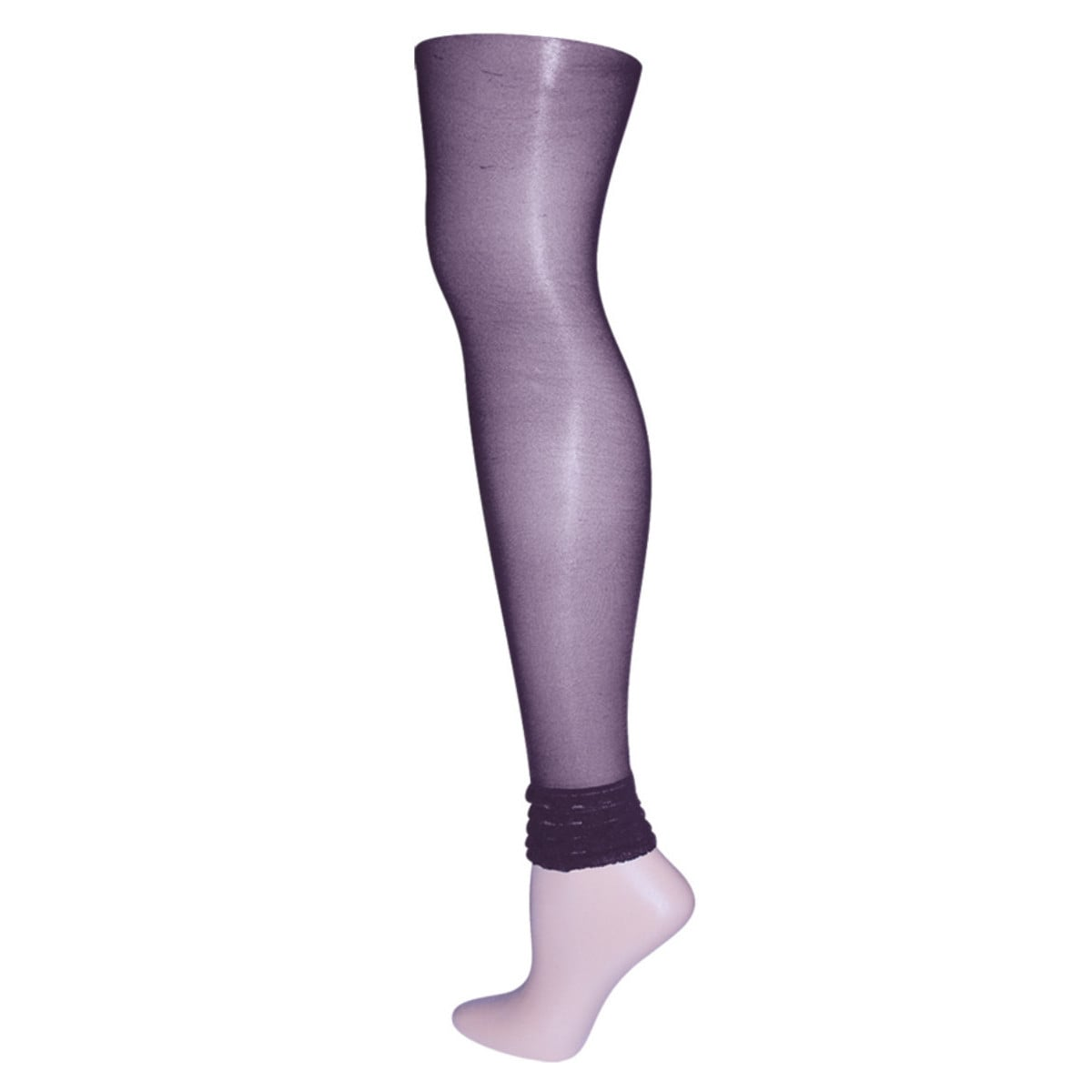 036c64e65 Shop Memoi Women s Layered Ruffles Sheer Footless Tights - Free Shipping On Orders  Over  45 - Overstock - 11143156