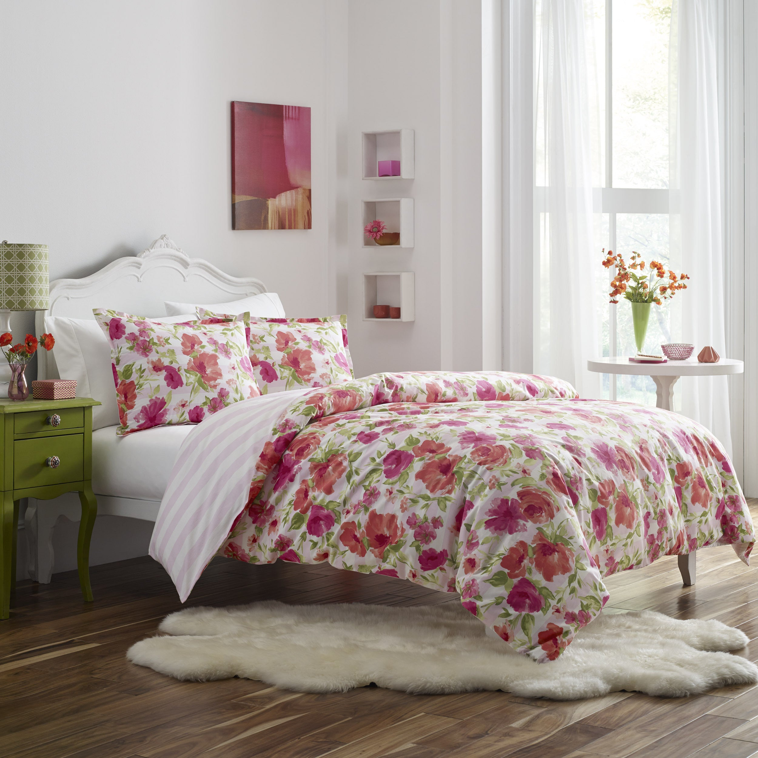 Poppy Fritz Buffy 3 Piece Duvet Cover Set Free Shipping Today 18146543