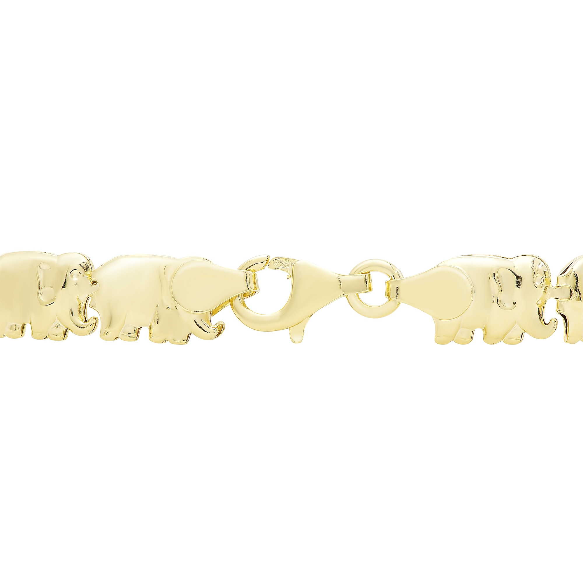 gold heart yellow bracelet finish diamonds design link simulated pin