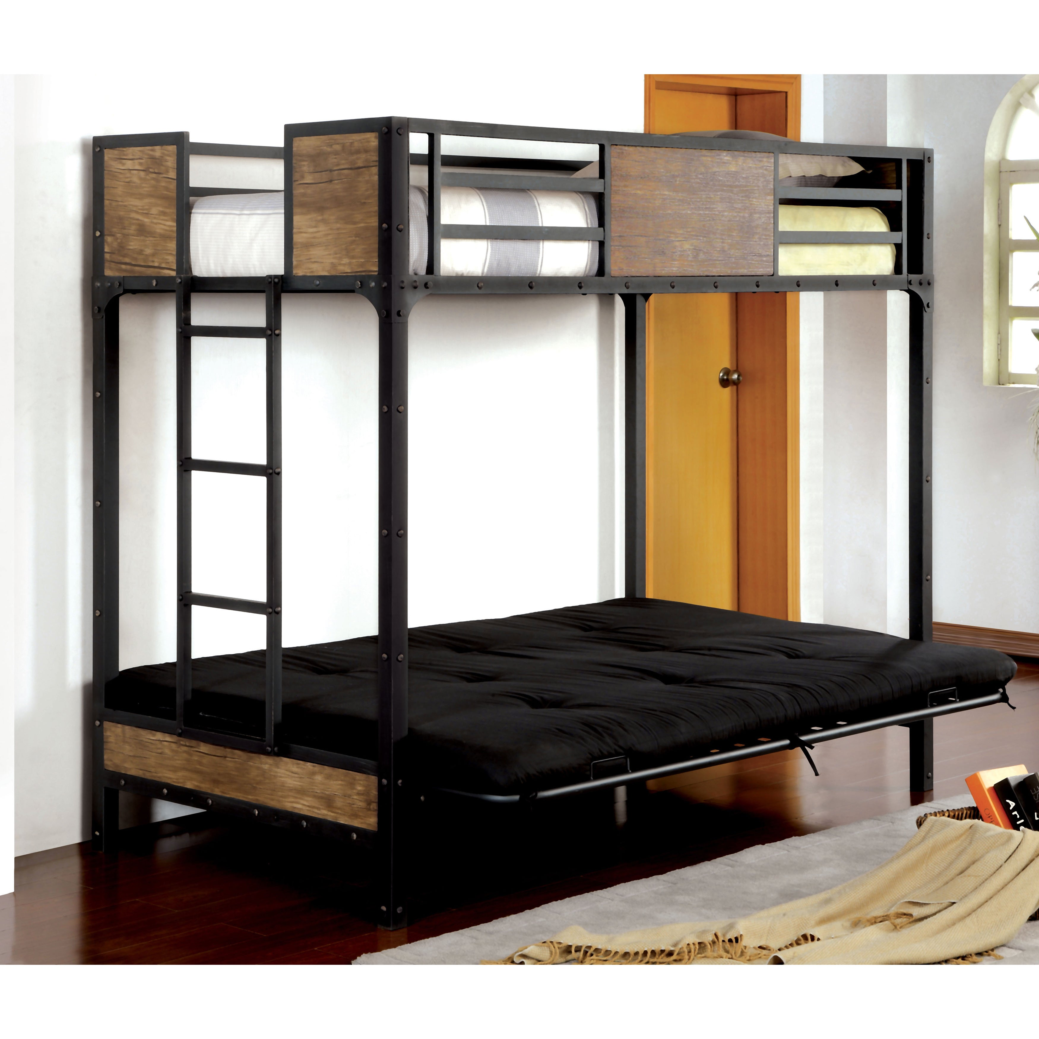den futon bed home overstock porch garden sofa free product today convertible bridgeport halsted shipping futons base