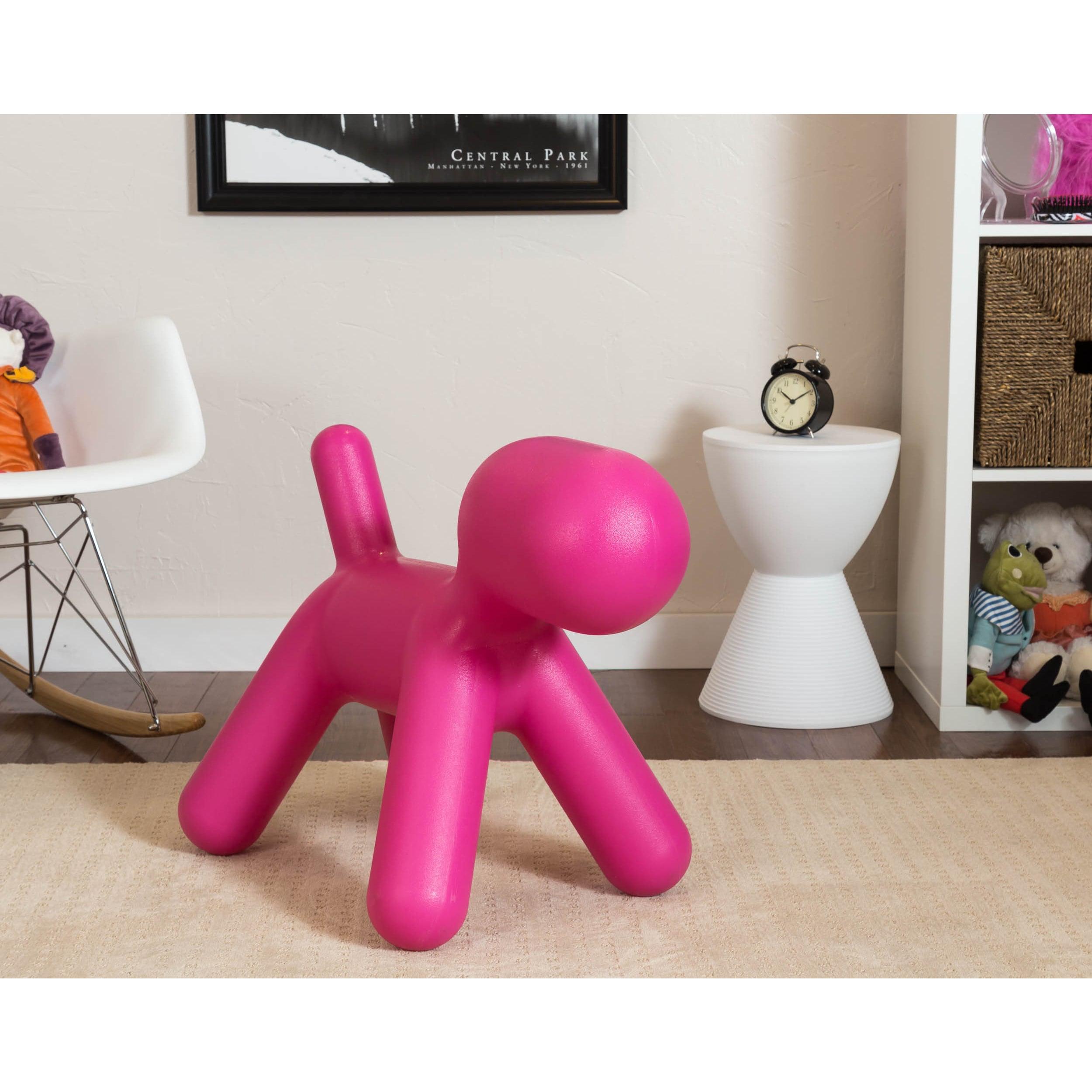 Somette Gavin S Room Pink Dog Chair