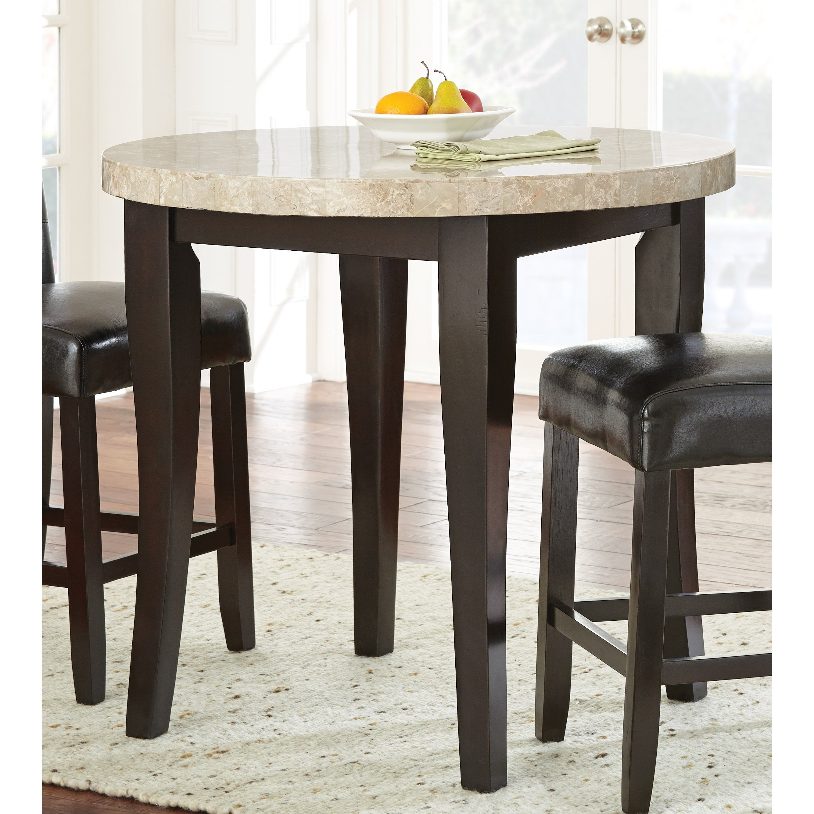 Shop Greyson Living Malone 40 Inch Round Counter Height Table   Espresso    On Sale   Free Shipping Today   Overstock.com   11152770