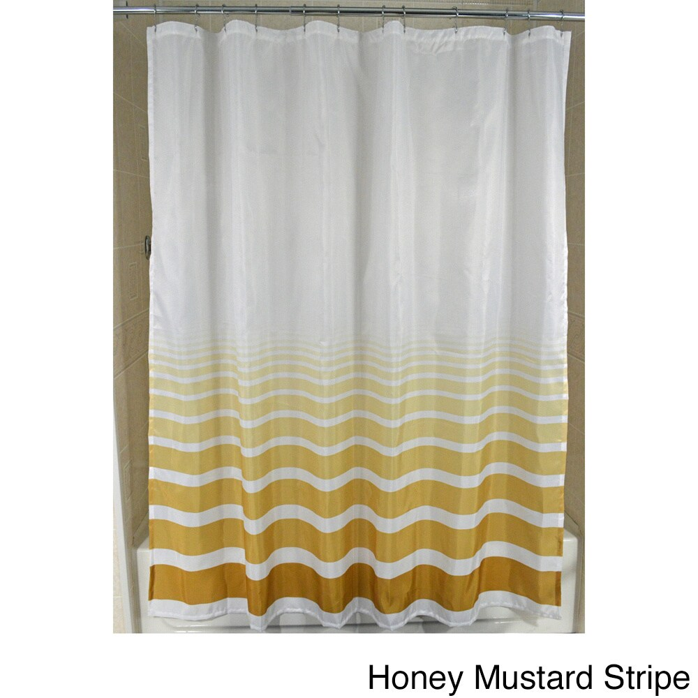Shop Horizon Fabric Shower Curtain