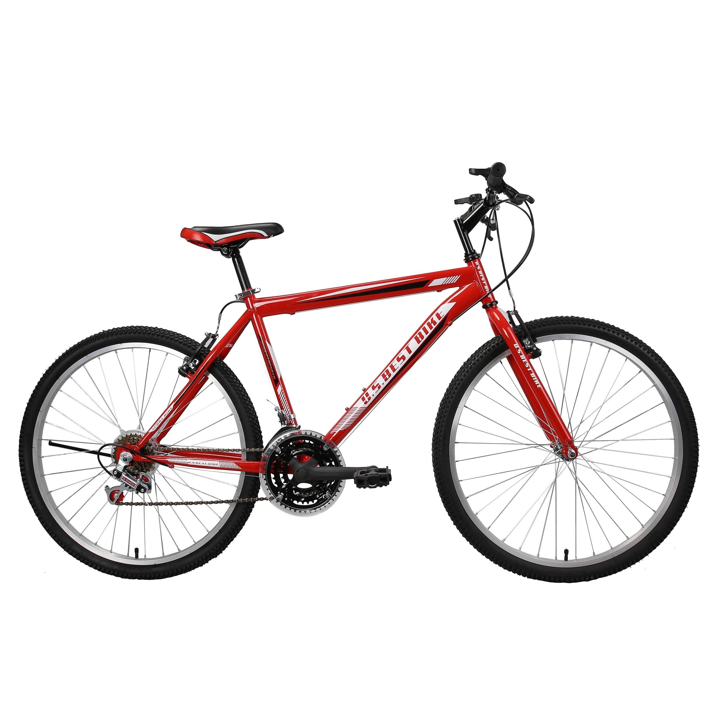 Shop US Best Bike 21-speed Men\'s 26-inch Wheel Mountain Bike - Free ...