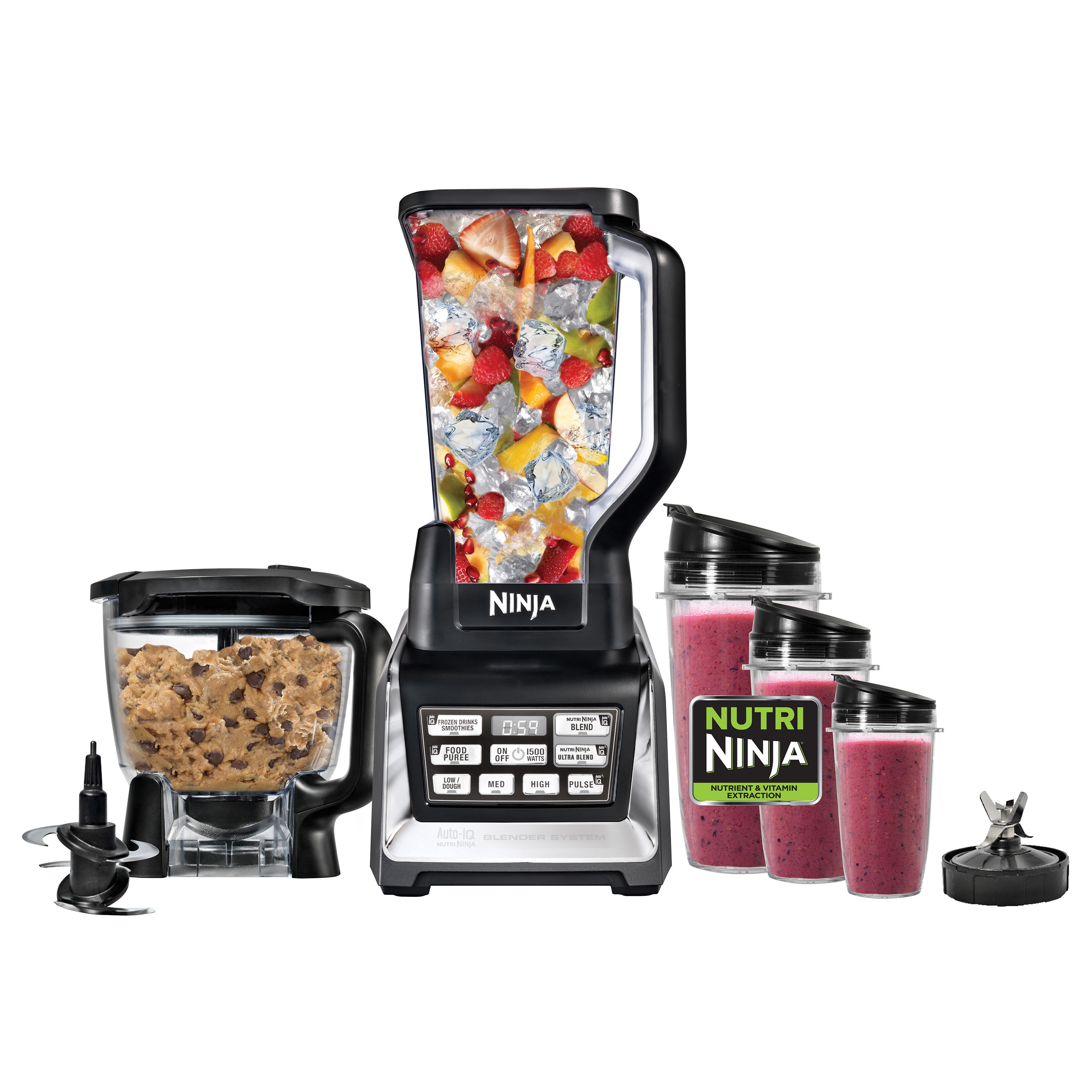 Shop Nutri Ninja BL682 Blender System with Auto-iQ - Free Shipping ...