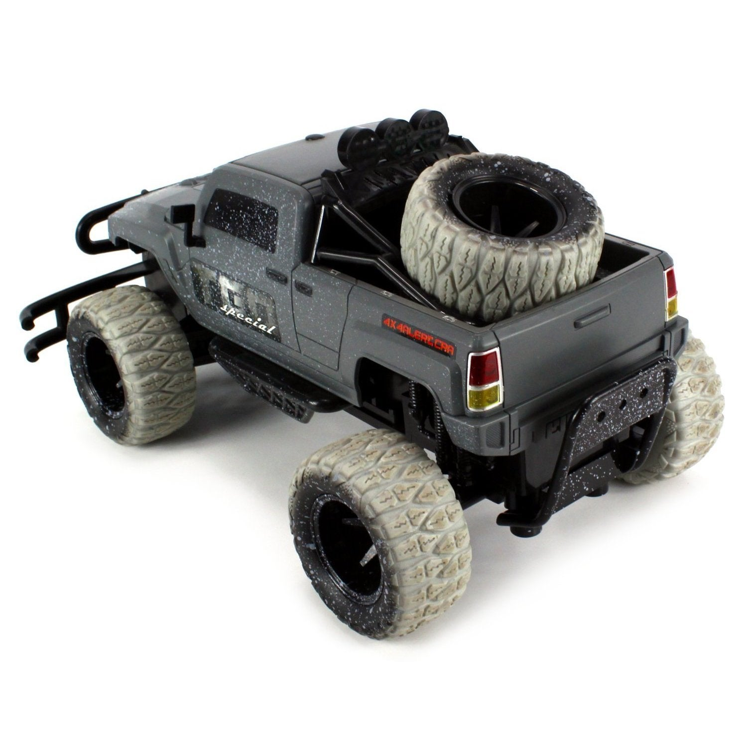 Velocity Toys Mud Monster Hummer H3t Pickup Battery Operated Remote Control Rc Off Road Truck 1 10 Scale Free Shipping Today