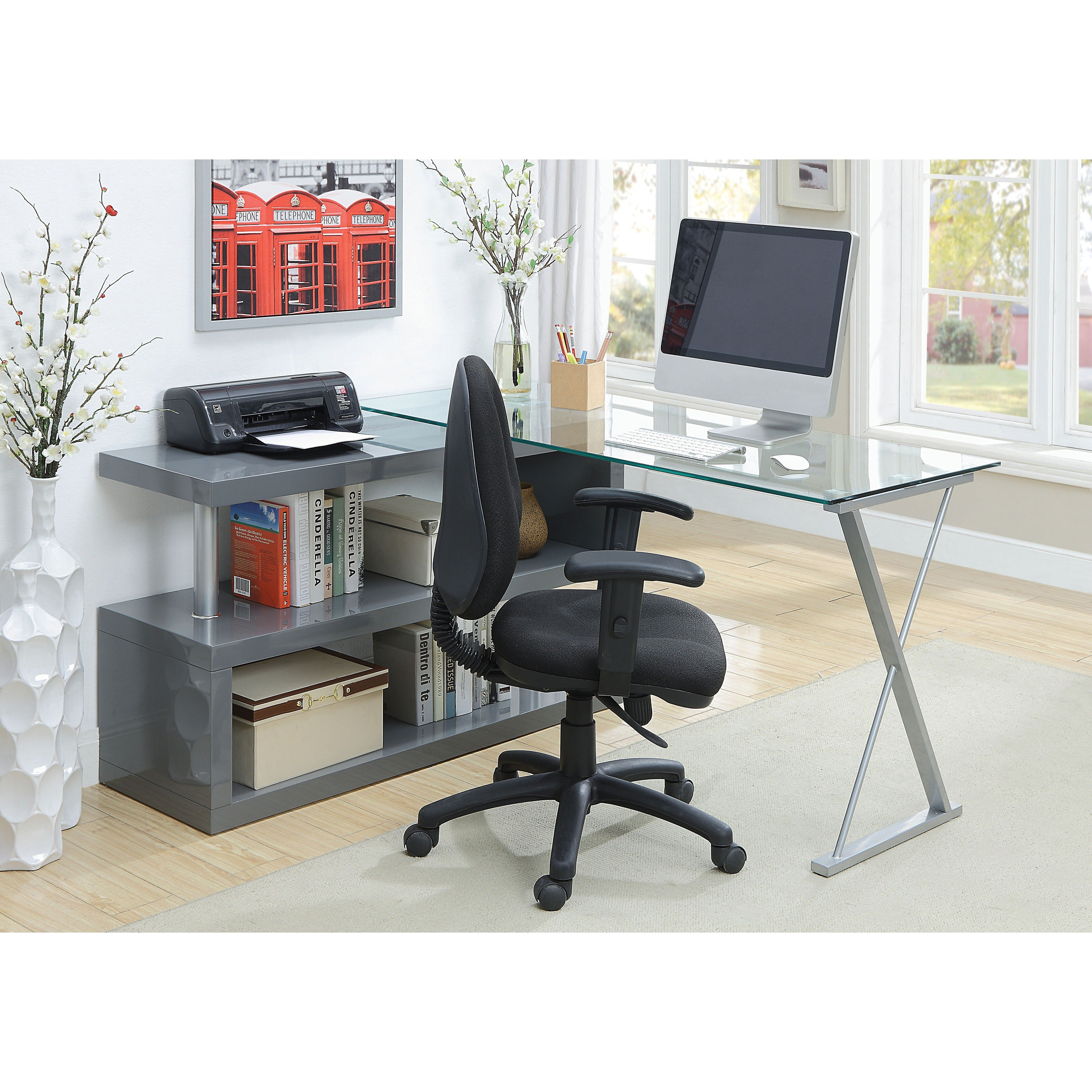 Exceptionnel Shop Oliver U0026 James Mense Convertible Executive Desk   On Sale   Free  Shipping Today   Overstock.com   21426654