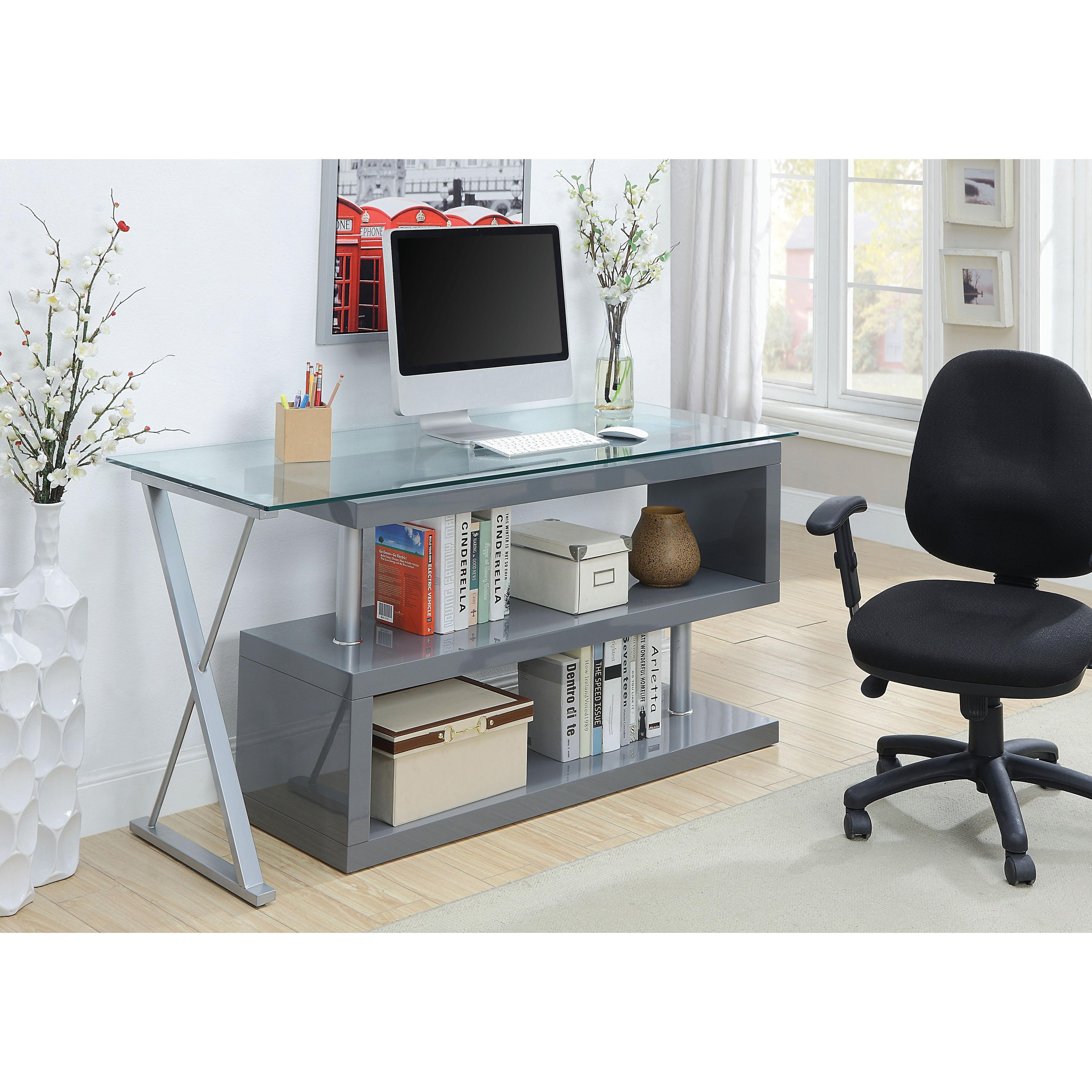 Furniture of America Marisa Contemporary Convertible Executive Desk - Free  Shipping Today - Overstock.com - 18170258