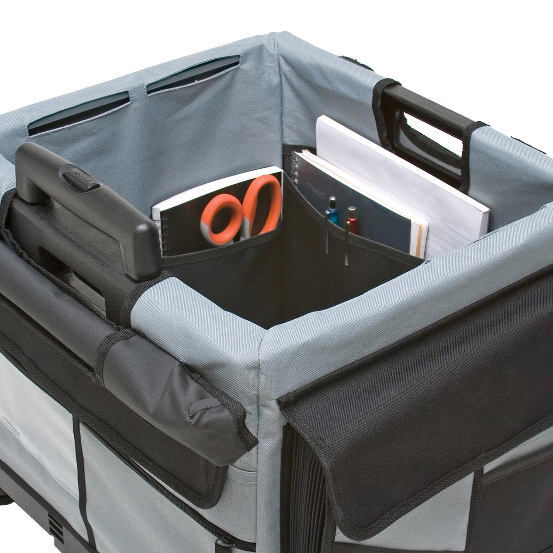Memorystor Universal Black And Grey Rolling Organizer Set Free