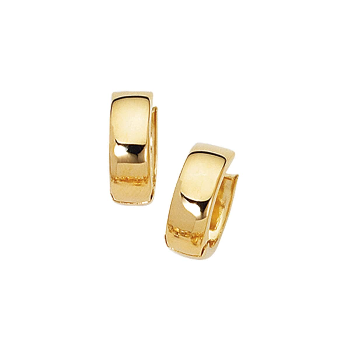 earring mounting yellow round product set filled snap with setting back lever earrings gold