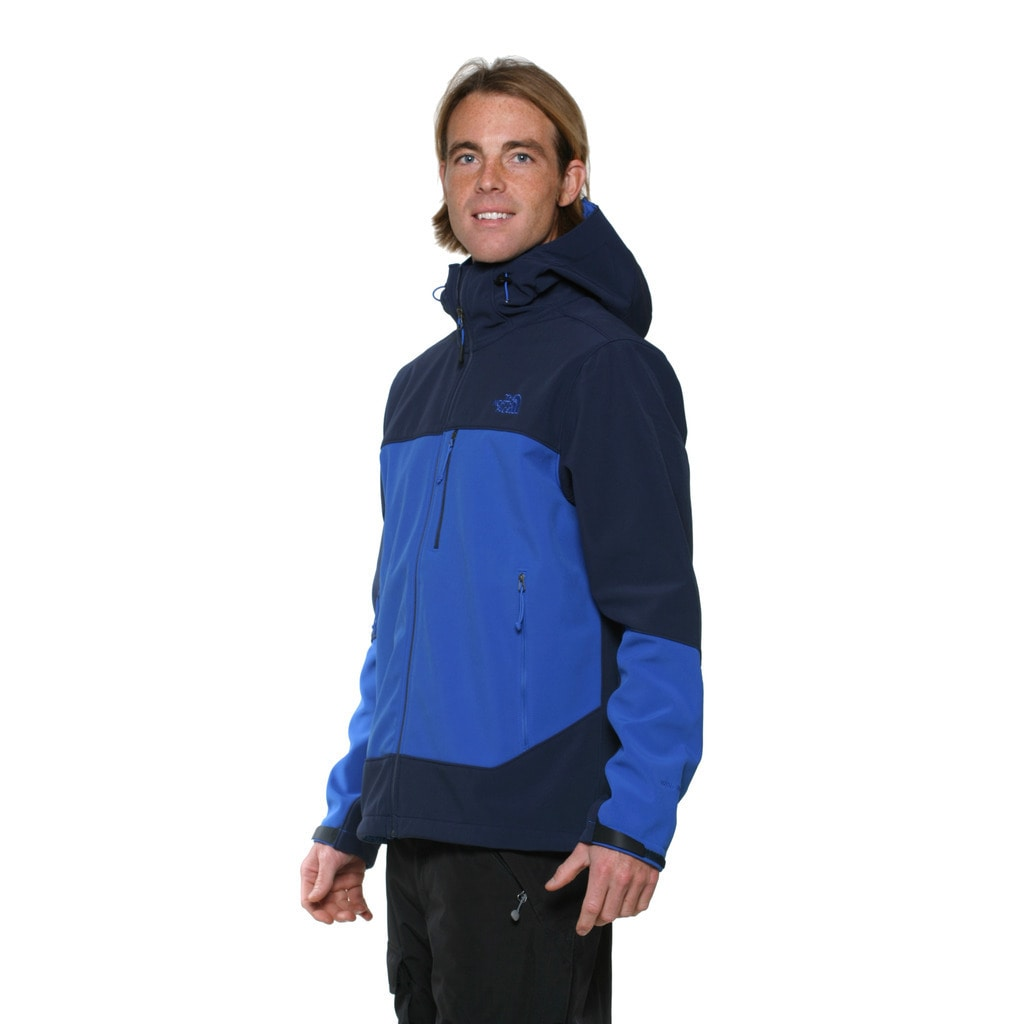 541a8956b The North Face Men's Cosmic Blue and Monster Blue Apex Bionic Hoodie