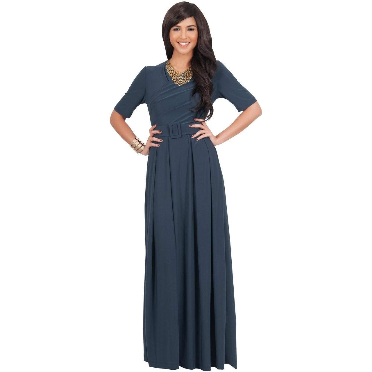 be99ab31dd2cbb Long Sleeve Maxi Dress Extra Length