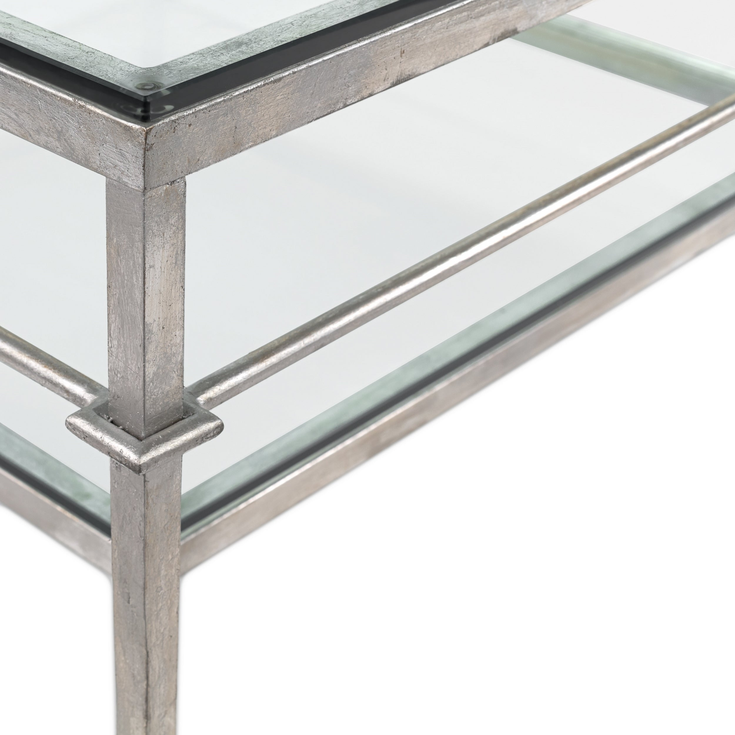 Ordinaire Shop Safavieh Couture High Line Collection Mieka Silver Leaf Silver  Cocktail Table   Free Shipping Today   Overstock.com   11188658