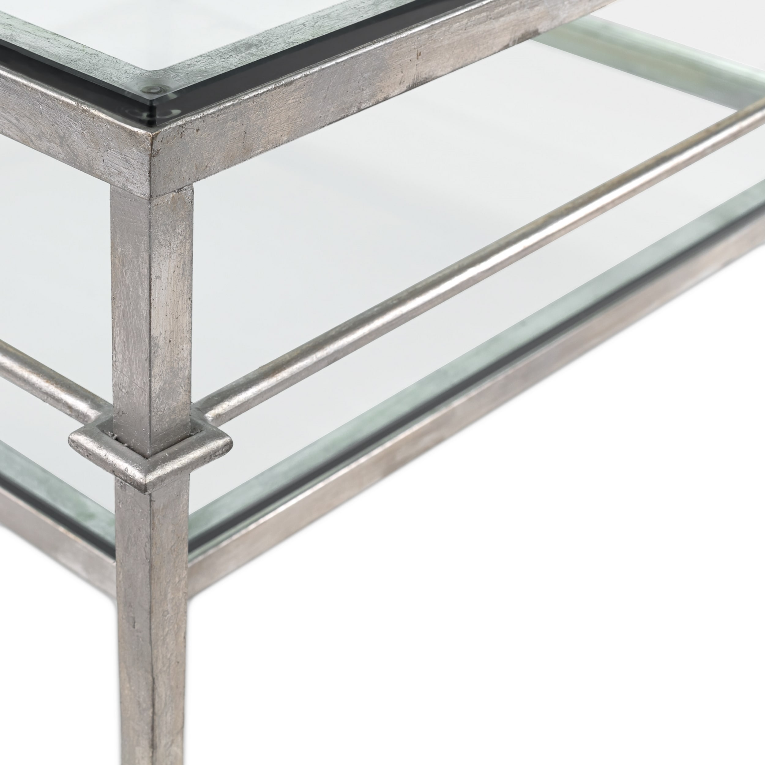 Safavieh Couture High Line Collection Mieka Silver Leaf Tail Table On Free Shipping Today 11188658