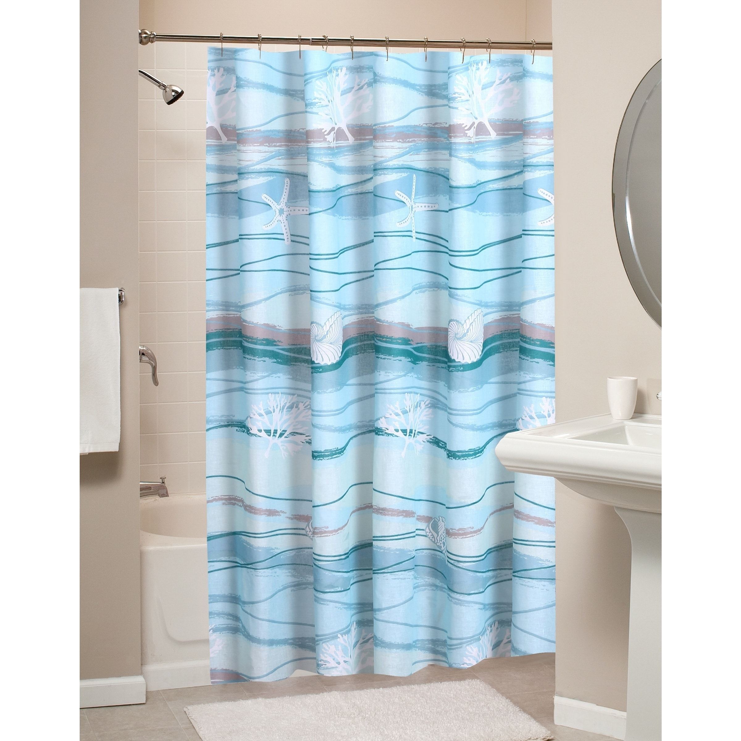 Greenland Home Fashions Maui Shower Curtain - Free Shipping On ...