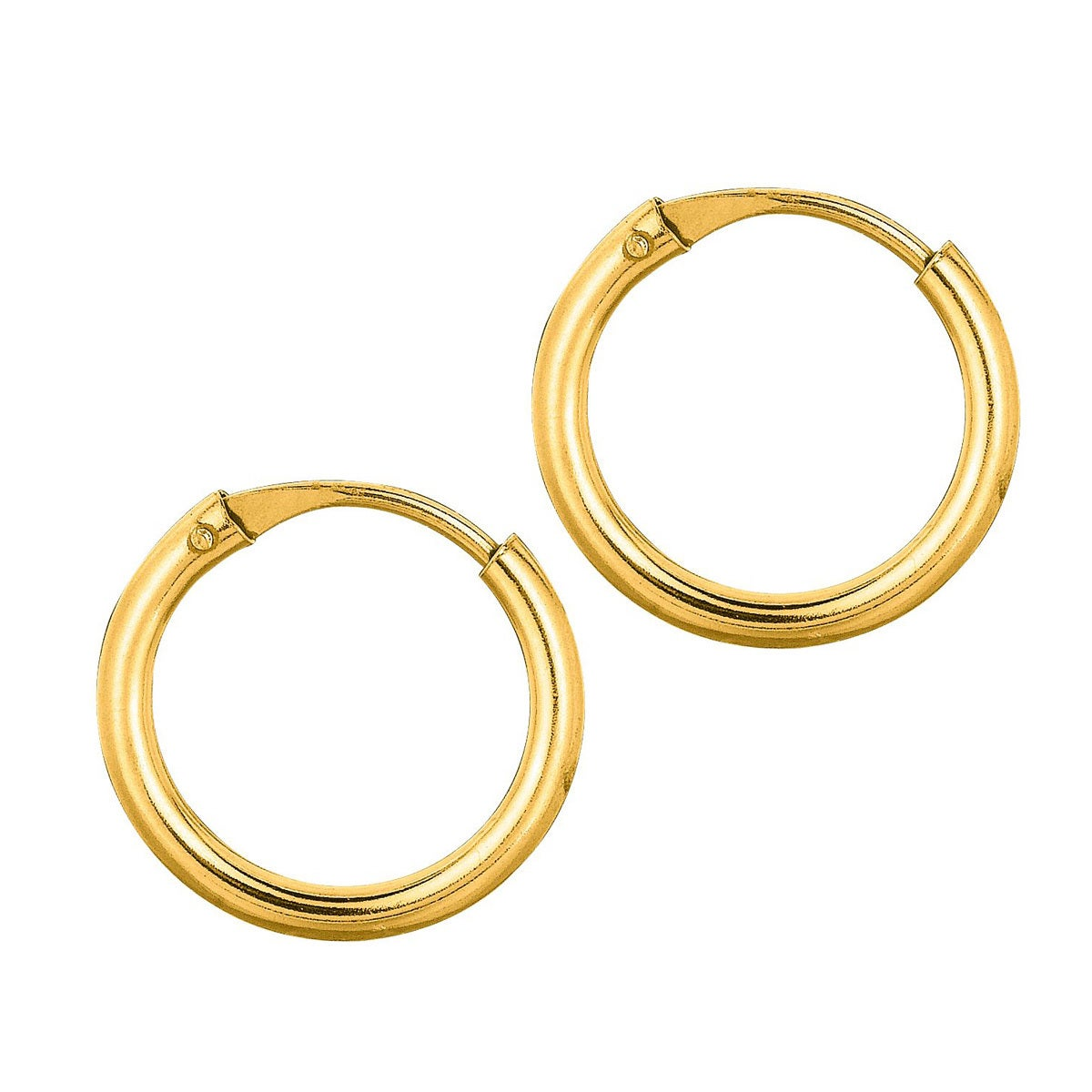 yellow hollow snap gold grams w hoop closures back products earrings