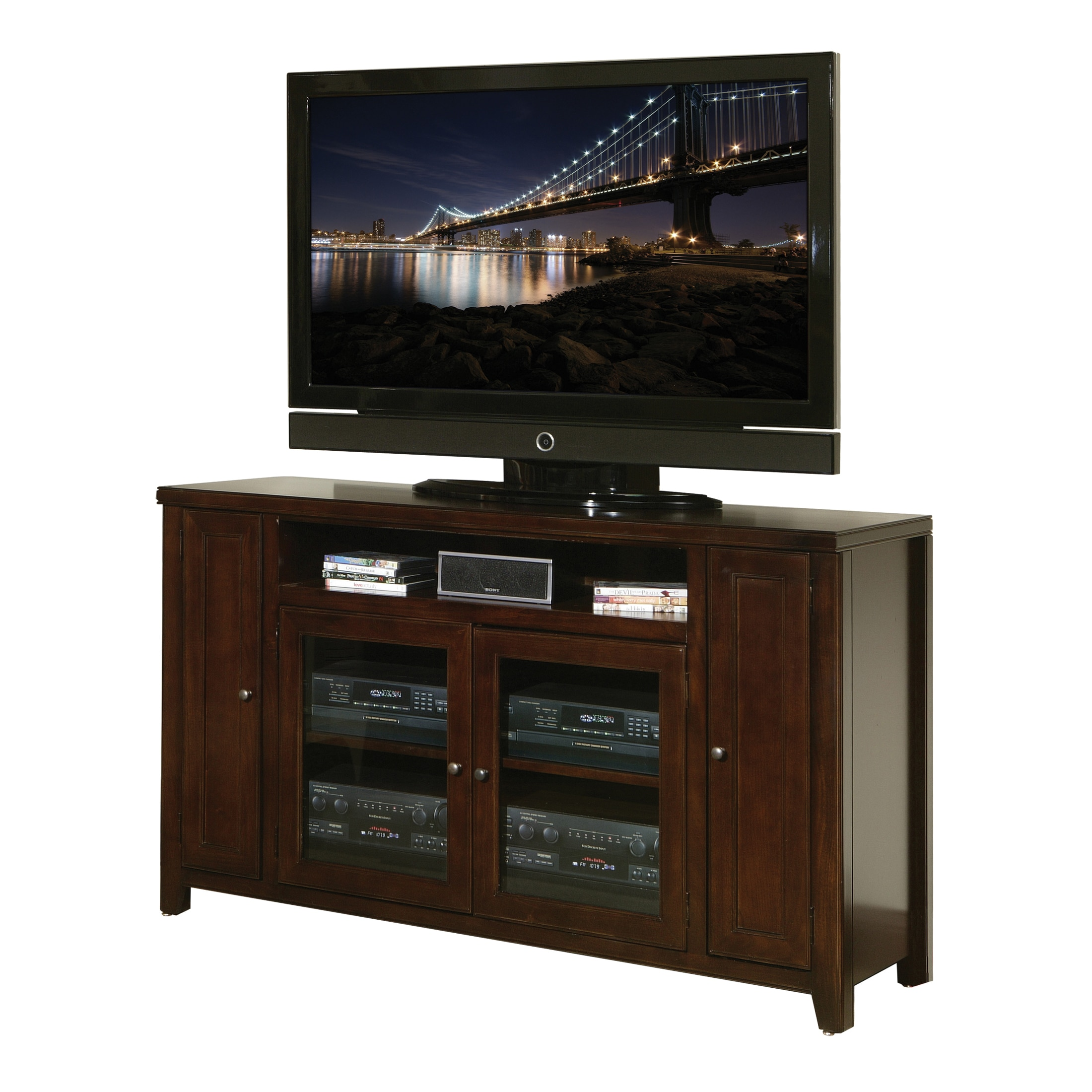 Shop Tansley Landing Cherry 36 Tall Tv Stand Free Shipping Today
