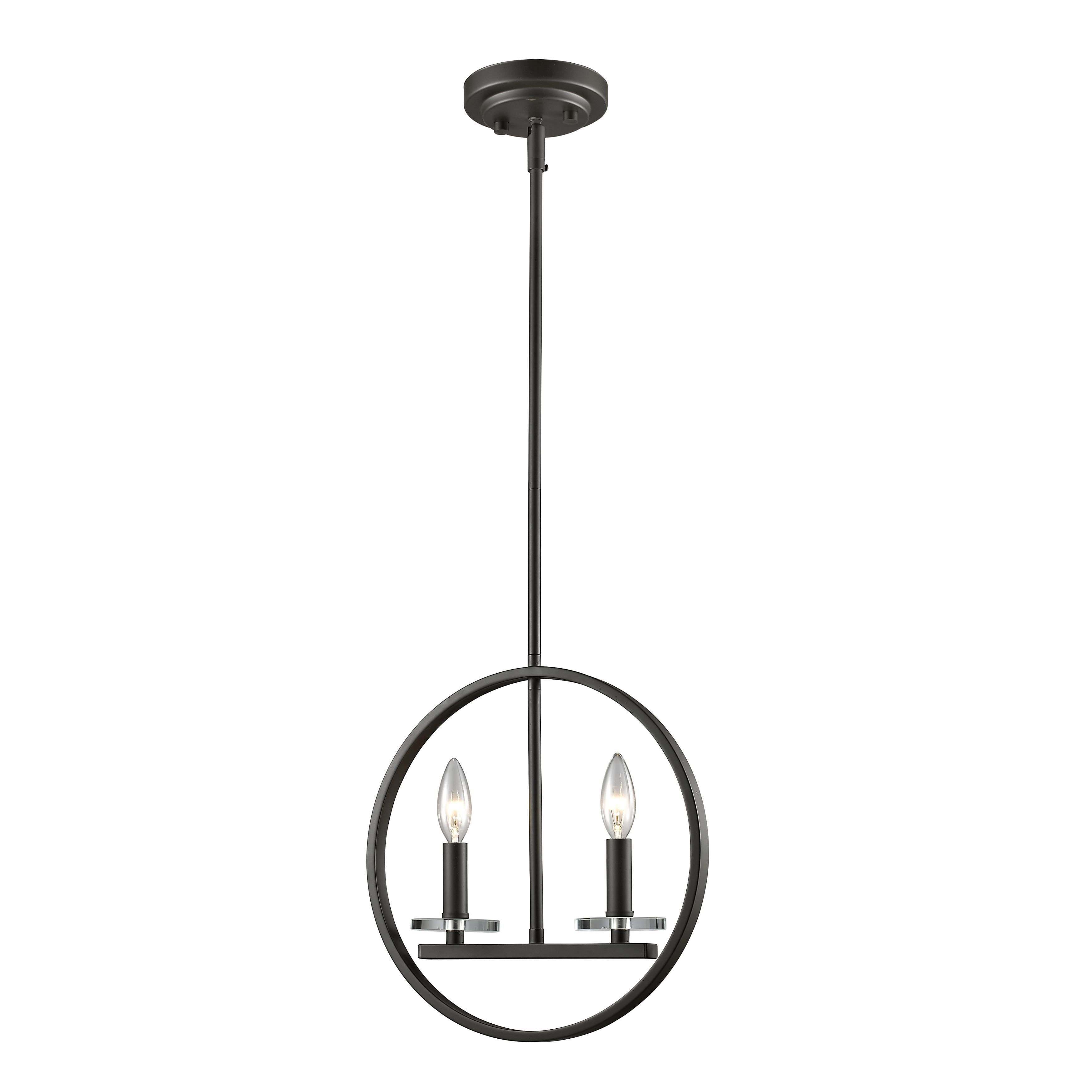 Shop Avery Home Lighting Verona 2-light Mini Pendant in Brushed Nickel - Free Shipping Today - Overstock.com - 11190723  sc 1 st  Overstock.com & Shop Avery Home Lighting Verona 2-light Mini Pendant in Brushed ...