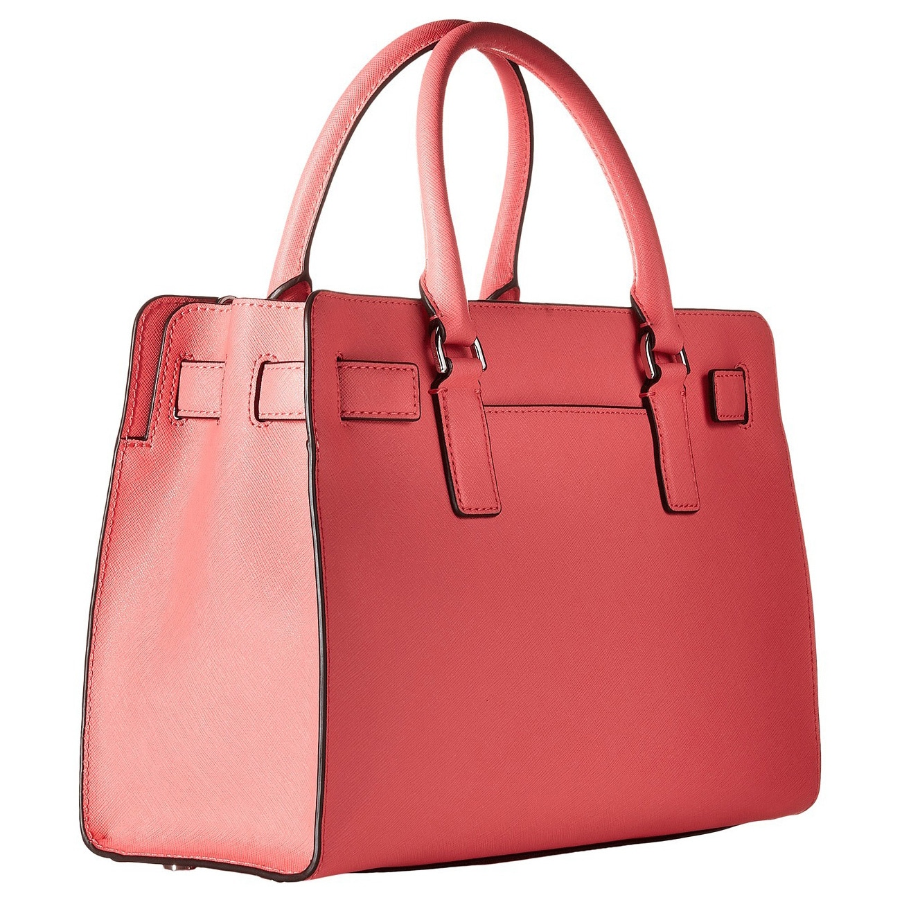 f89348550e28 Shop Michael Kors Dillon Coral East West Satchel Handbag - Free Shipping  Today - Overstock - 11191220