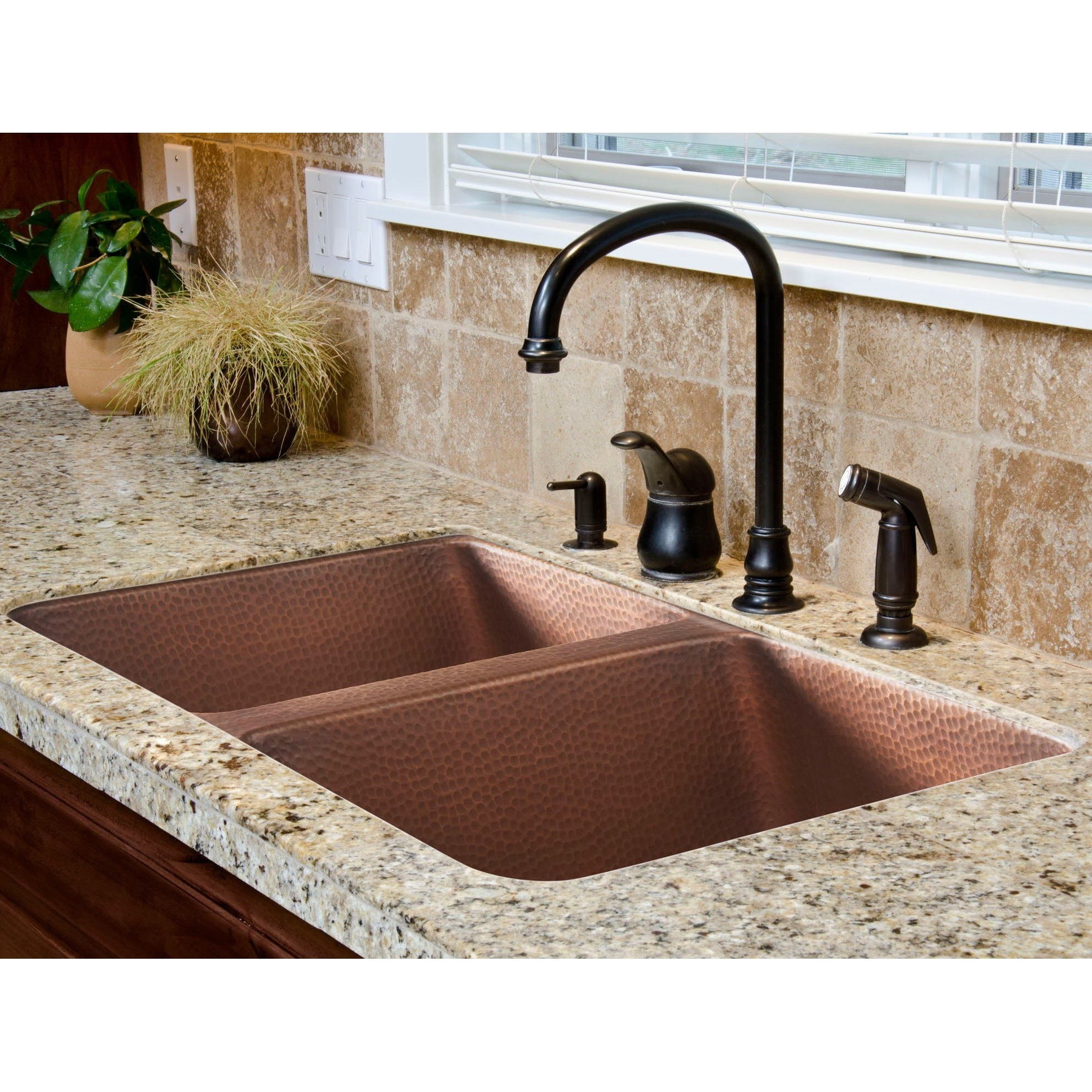 handmade pure inch sink undermount copper solid kitchen uk exotic hammered farmhouse