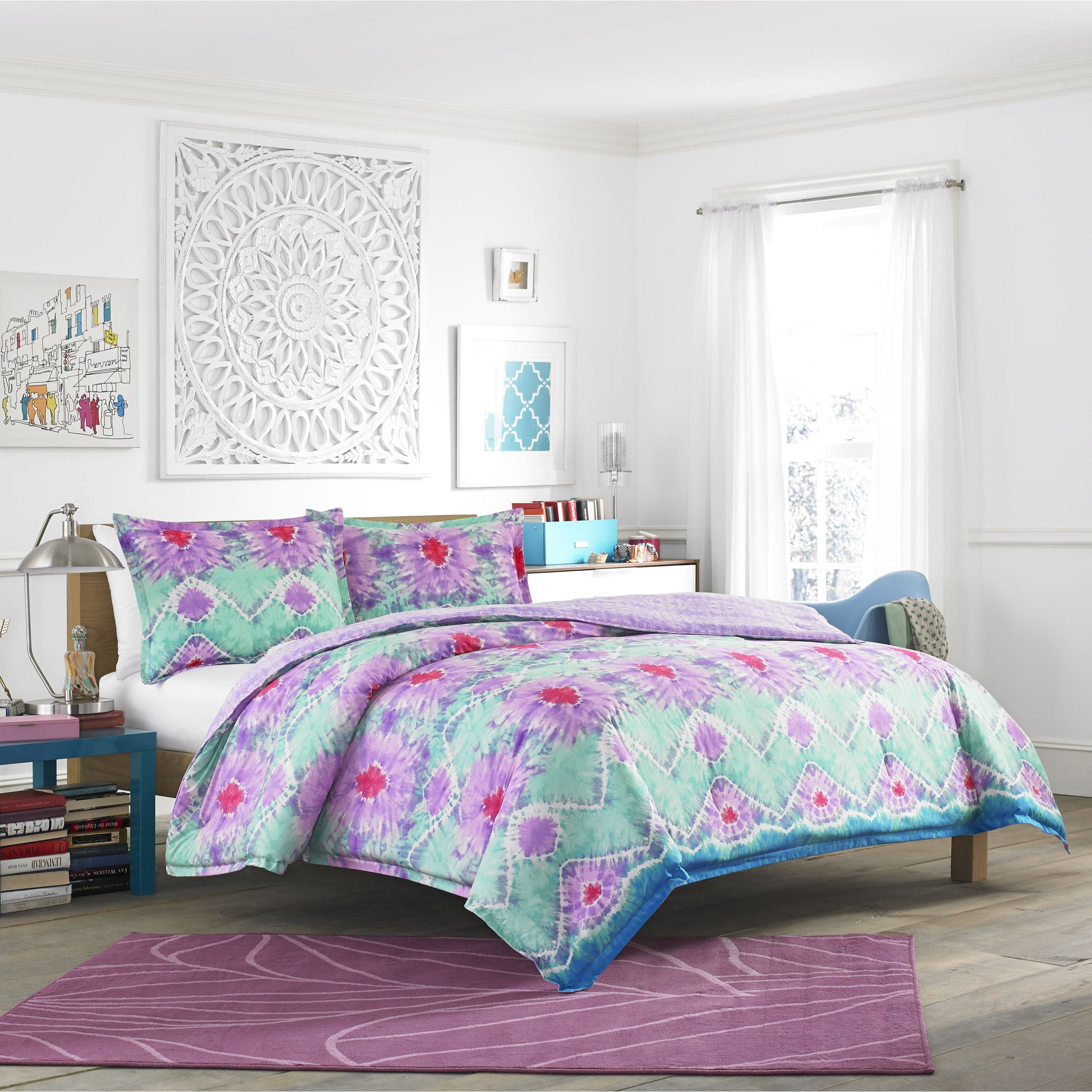 Shop Teen Vogue To Dye For 3-piece Comforter Set - Free Shipping ...