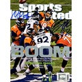 Michael Bennett & Brandon Mebane Dual Signed Sports Illustrated Magazines ( Mill Creek Holo)
