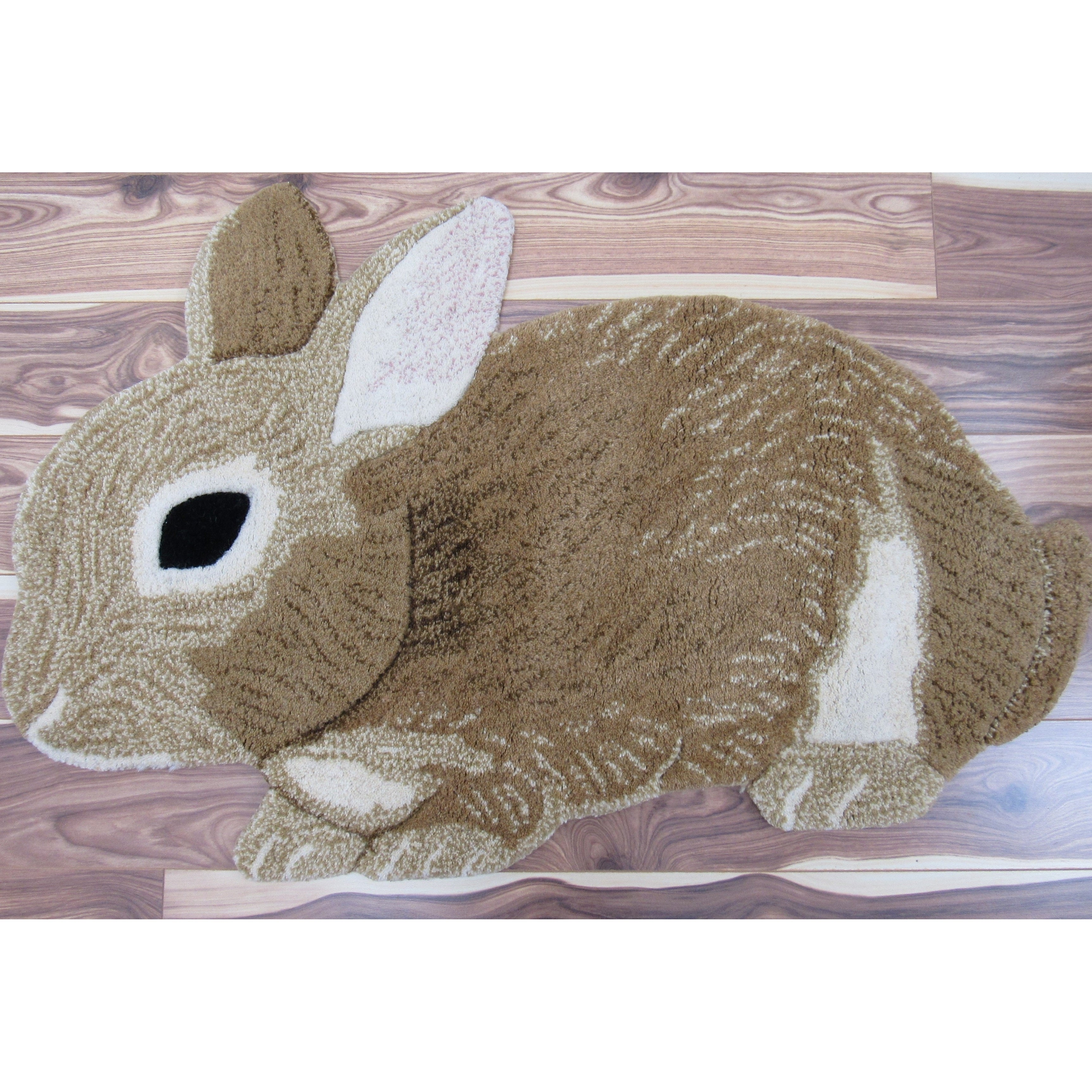 Shop Cute Bunny Rabbit Wool Rug Free Shipping Today Overstock