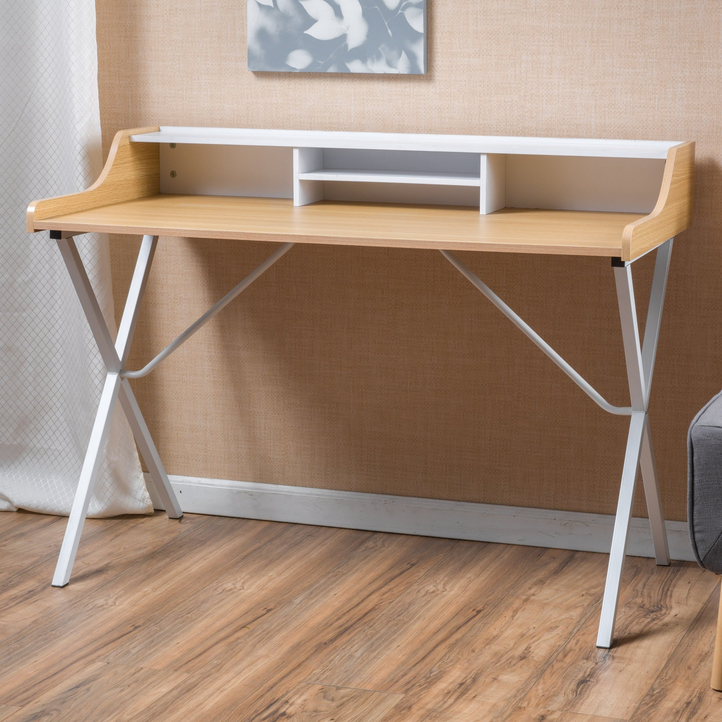 Shop Aalto Computer Desk by Christopher Knight Home - On Sale - Free ...
