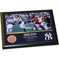 Derek Jeter Fenway Farewell Moment 8x10 Dirt Plaque