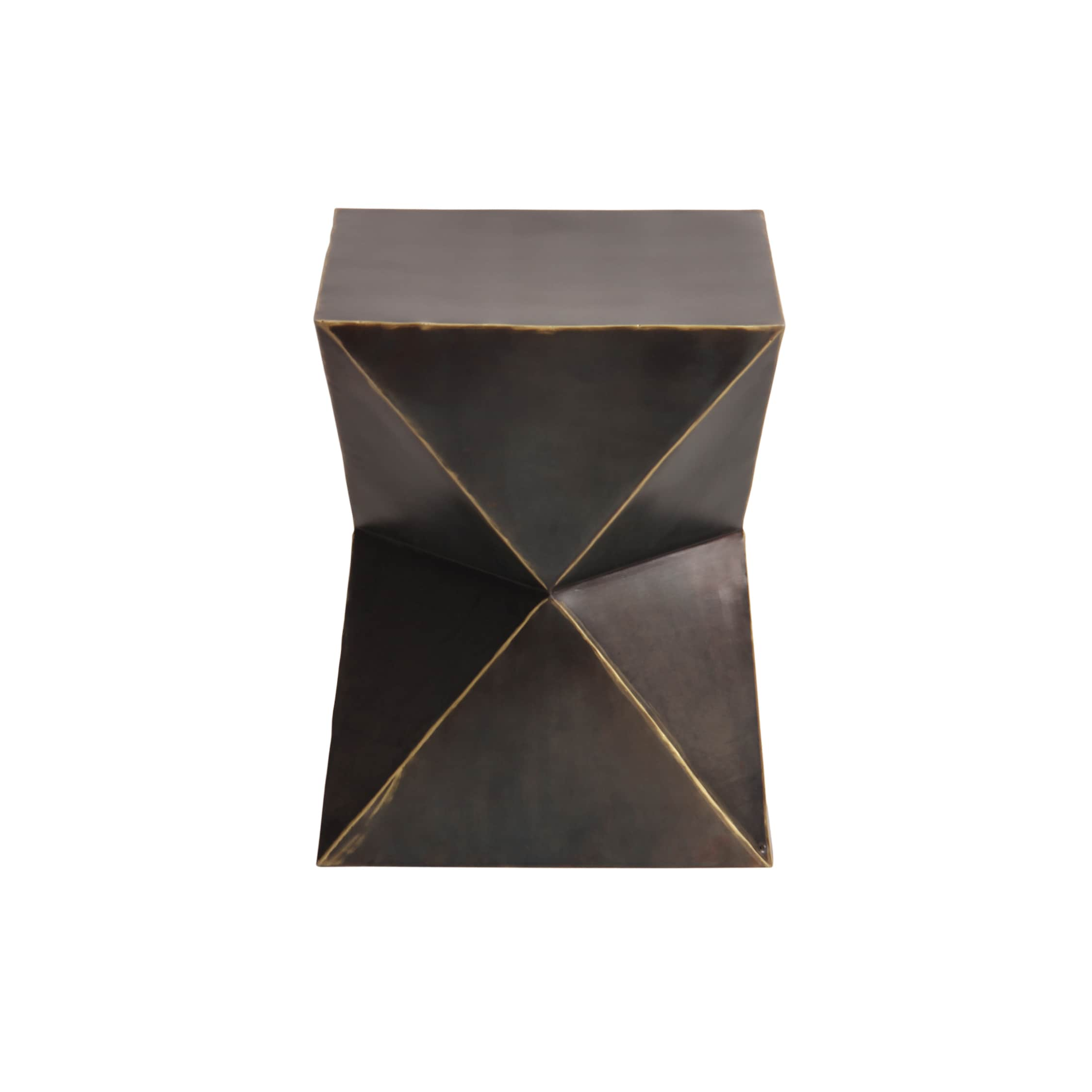 Shop Rockwell Bronze Garden Stool   Free Shipping Today   Overstock.com    11206203