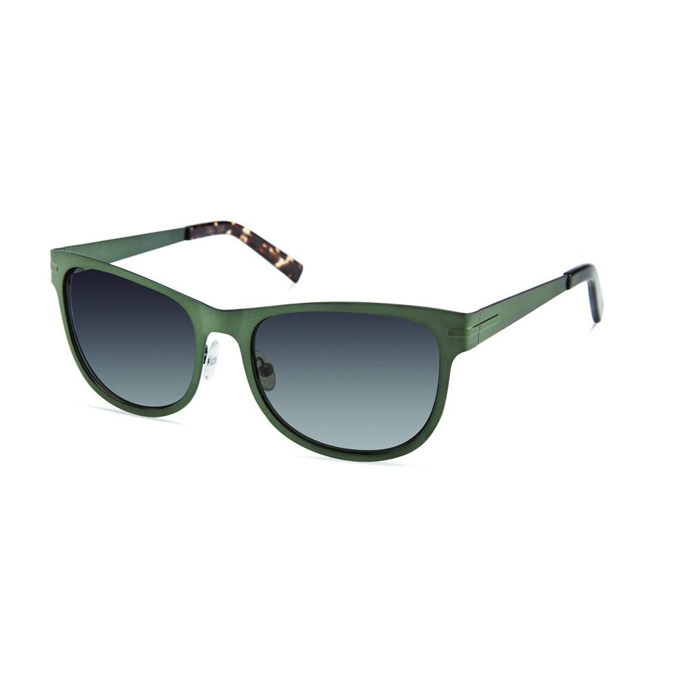0acbc96b782 Shop Cynthia Rowley Eyewear CR6021S No. 80 Hunter Square Metal Sunglasses -  Green - Free Shipping Today - Overstock.com - 11207056